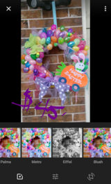 Easter Wreath in Baytown, Texas