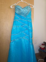 Formal gown aqua color. in Ramstein, Germany