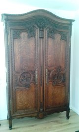 Antique French wedding armoire around 1810 Normandy region in Ramstein, Germany