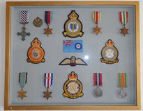 British World War 2 medals and badges in Ramstein, Germany