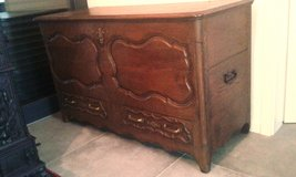 Antique French trunk around 1730 in Ramstein, Germany