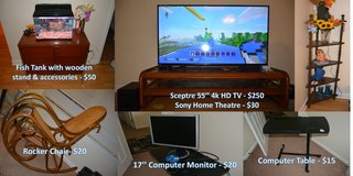 MOVING SALE - EVERYTHING MUST GO (3) in Lockport, Illinois