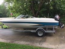 Great ski boat with skis and vests included in Kingwood, Texas
