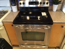 GE Stainless Smooth Top Range - USED in Fort Lewis, Washington