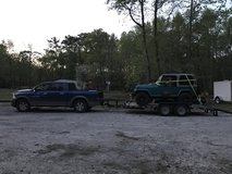 2011 Ram1500, 7500lb equipment trailer, 91 jeep wrangler package in Cherry Point, North Carolina