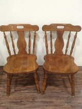 Wooden Dining Table Chairs in CyFair, Texas
