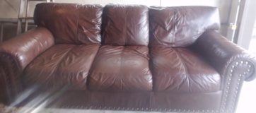 Beautiful Leather Sedona Couch! in Fort Lewis, Washington