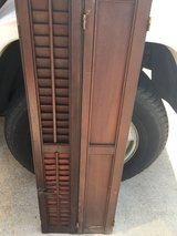Antique Wooden Shutters Reduced in Lawton, Oklahoma