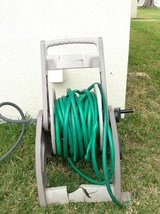 Hose with reel in Okinawa, Japan
