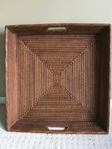 Pottery Barn Coffee Table Square Basket in Oswego, Illinois