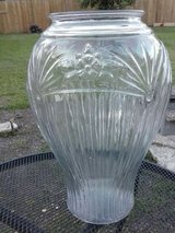 Glass vase in Lackland AFB, Texas