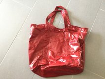 Large red bag in Ramstein, Germany