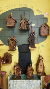Hand crafted birdhouses in Lockport, Illinois