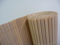 2 x PVC bamboo Garden Fences Plastic Panel Screen Double Faced 3 m Long 1,80 m Tall in Ramstein, Germany