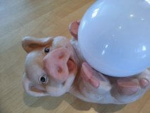 Piglet with Solar ball in Ramstein, Germany