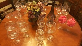 Wine glasses lot in Bolling AFB, DC