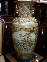 SATSUMA HANDPAINTED LARGE VASE in Springfield, Missouri
