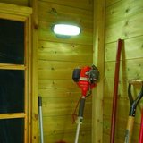 Solar Powered Shed Light with sensor in Ramstein, Germany
