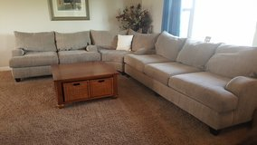 Beautiful Ashely Furniture Sectional Sofas Set, Memory Foam! Deep Seats! in Glendale Heights, Illinois