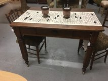 "Gaming table 1 draw on weels 29"" deep 42 in long 31"" tall in Cleveland, Texas"