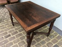 Beautiful antique solid wood table from France to pull out in Ramstein, Germany