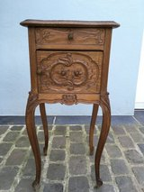 Very nice antique little cabinet - nightstand - Shabby Chic in Ramstein, Germany