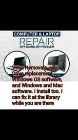 Virus Removals, Windows 7,8,10 installation cds and software in Savannah, Georgia