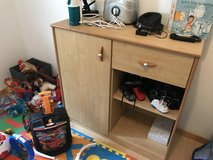 Low crib with storage dresser in Ramstein, Germany