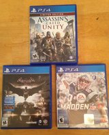 3 PS4 video games in Beaufort, South Carolina