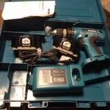 110 Voltage Rechargeable Makita Drill Set in Ramstein, Germany
