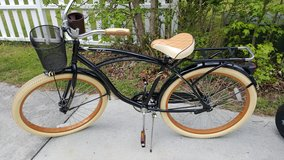 "26"" Huffy Cruiser bike-black & beige in Camp Lejeune, North Carolina"