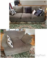 Couch and Chair-and-a-half in Lockport, Illinois