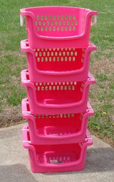 Stackable Storage Bins set of 5 in Hopkinsville, Kentucky