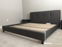 ASHLEY MASTERTON UPHOLSTERED BED (KING) in Travis AFB, California