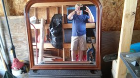 Dresser mirror in Fort Carson, Colorado