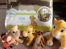 The Lion King crib bedding in Lockport, Illinois