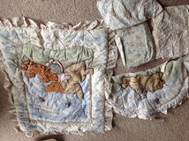Winnie the Poor Crib bedding and Decor Set in Glendale Heights, Illinois