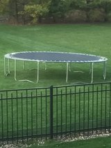 14' Trampoline (enclosure is brand new in box) in Naperville, Illinois
