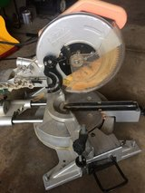 Chicago 12'' Compound Slide Miter Saw with Stand in DeKalb, Illinois