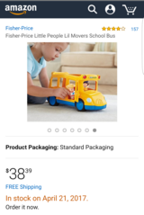 Fisher-Price Little People Lil Movers School Bus in Okinawa, Japan
