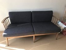 Couch - Beautiful Wood Frame in Okinawa, Japan