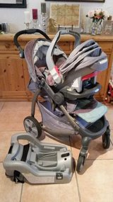 Infant Carseat with Stroller in Ramstein, Germany