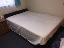 Double size bed in Okinawa, Japan