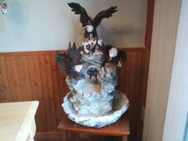 American Bald Eagle fountain----- in Fort Drum, New York