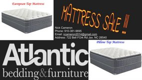 Mattress Blowout !!! in Camp Lejeune, North Carolina