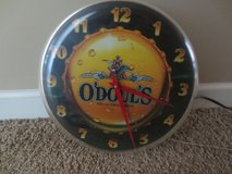 Vintage 1992 O'Doul's Non-Alcoholic Beer Light Up Clock - $40 in Fort Rucker, Alabama