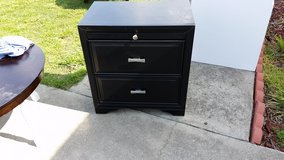 Black night stand in Fort Bragg, North Carolina