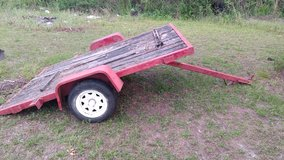 Tilt bed trailer in Perry, Georgia