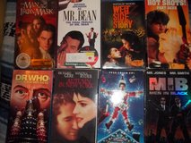 Lot of  8 VHS in Alamogordo, New Mexico