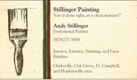 Professional Painting, Staining, Drywall Repair, Popcorn Removal, and more in Fort Campbell, Kentucky